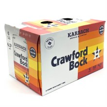 Karbach: Crawford Bock 6 Pack