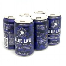 Legal Draft: Blue Law 6 Pack 12oz Cans