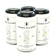 Manhattan Project: Atomic Alliance 4 Pack Cans