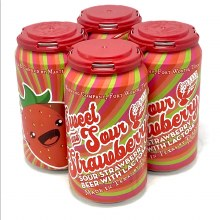 Martin House: Sweet & Sour Strawberry 4 Pack Cans