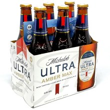 Michelob: Ultra Amber Max 6 Pack Bottles