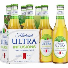 Michelob: Ultra Infusions Lime 6 Pack (Bottles)