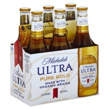 Michelob: Ultra Pure Gold 6 Pack (Bottles)