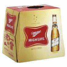 Miller High Life: 12 Pack (Bottles)