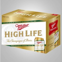 Miller High Life: 30 Pack (Cans)