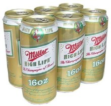 Miller High Life: 6 Pack (Bottles)
