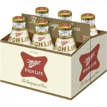 Miller High Life: 6 Pack (7oz Bottles)
