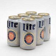 Miller Lite (6 Pack Cans)