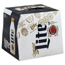 Miller Lite (9 Pack Bottles)