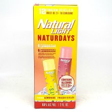 Natural Light: Naturday's Frozen Icicles Variety 12 Pack Box