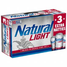 Natural Light (15 Pack Cans)