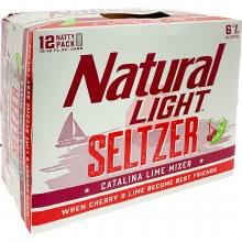 Natural Light: Catalina Lime Mixer 12 Pack