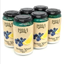 NOLA: Berliner Weisse Blueberry & Lemon 6 Pack Cans