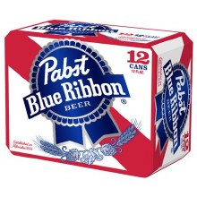 Pabst Blue Ribbon (12 Pack Cans)