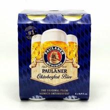 Paulaner: Oktoberfest Bier 4 Pack Cans