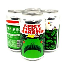 Prairie: Spicy Pickle Monster 4 Pack Cans