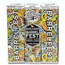 Rahr & Sons: Barrel Fest Barrel-Aged Marzen Lager 2 Pack Cans