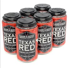 Rahr & Sons: Texas Red 6 Pack