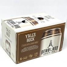 Revolver: Y'alls Bock 6 Pack 12oz Cans