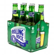 Rolling Rock 6 Pack Bottles
