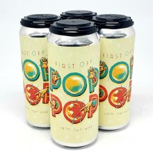 Roughtail: First Off... Pop Pop! DIPA 4 Pack Cans