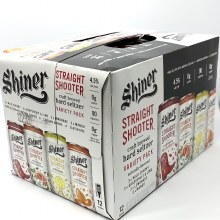 Shiner: Straight Shooter 12 Pack (Cans)