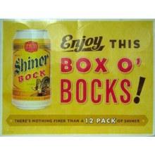 Shiner: Bock 12 Pack (Cans)