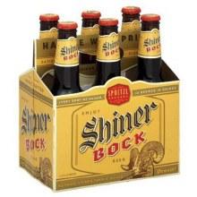 Shiner: Bock 6 Pack (Bottles)