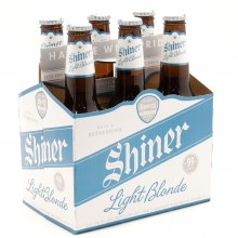 Shiner: Light Blonde 6 Pack (Bottles)
