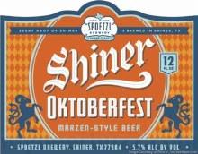Shiner: Oktoberfest 12 Pack Cans