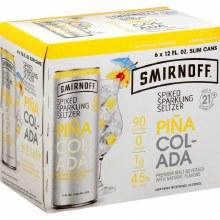 Smirnoff: Pina Colada 6 Pack