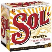 Sol: Cerveze 12 Pack (Bottles)