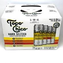 Topo Chico: Hard Seltzer Variety 12 Pack