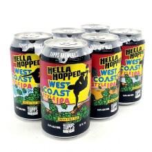 Tupps: Hella Hopped West Coast IPA 6 Pack Cans