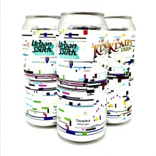 Urban South: Timepiece Helles Lager 16oz Can