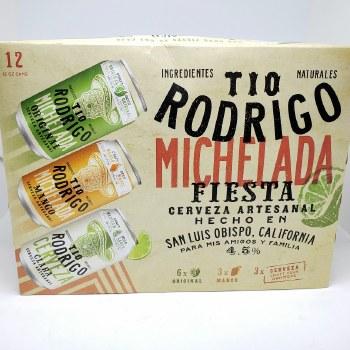 Tio Rodrigo: Fiesta Variety 12 Pack Cans
