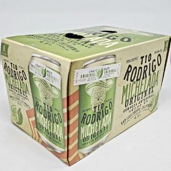 Tio Rodrigo: Original Michelada 6 Pack Cans