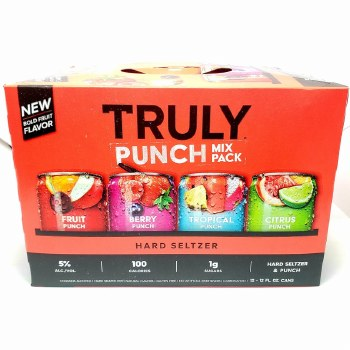 Truly: Punch Mix 12 Pack Cans