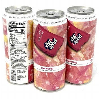 Untitled Art: Pixie Mix Pink Berry 16oz Single Can