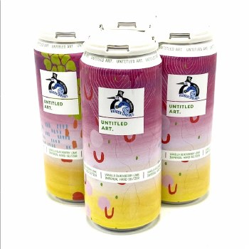 Untitled Art: Vanilla Blackberry Lime Imperial hard Seltzer 4 Pack