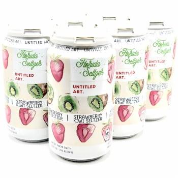 Untitled Art: Strawberry Kiwi Seltzer 6 Pack