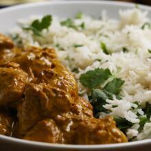 Chicken Korma & Rice (g)