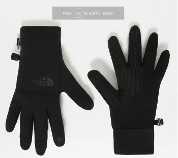 TNF W ETIP RECYCLED GLOVE