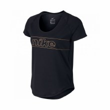 NIKE TOP SS 10K GLAM LARGE