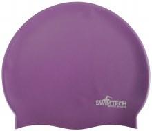 SWIMTECH SILICONE SWIM CAP PUR