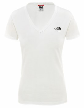 TNF W SIMPLE DOME TEE LARGE
