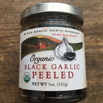 Black Garlic (Organic Peeled Cloves)