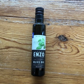 Fresh Crushed Basil Olive Oil