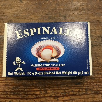 Scallop in Galacian Sauce