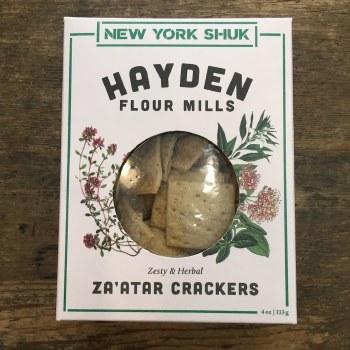 Za'atar Crackers
